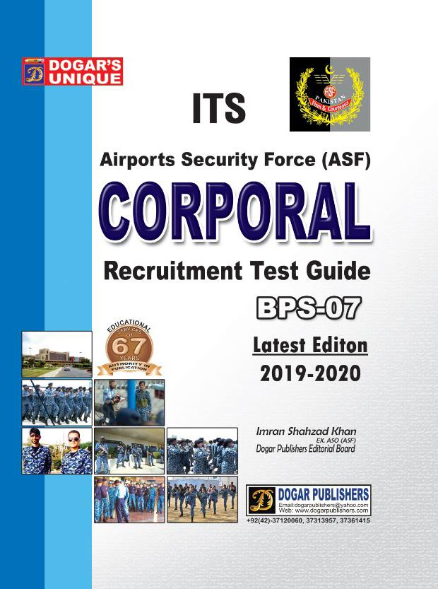 ITS Corporal Recruitment Guide 2019-20 Edition