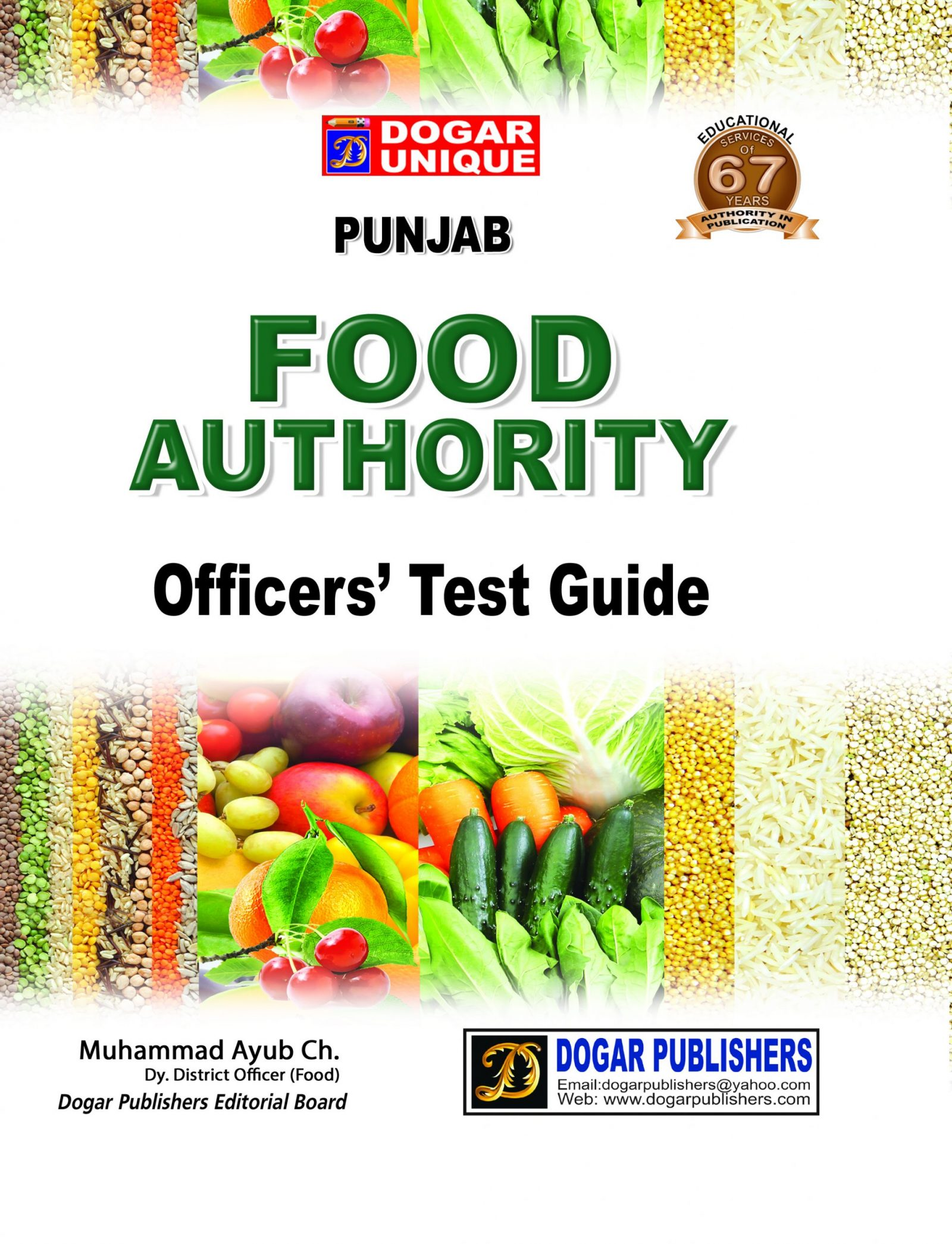 Food Authority Officers' Test Guide