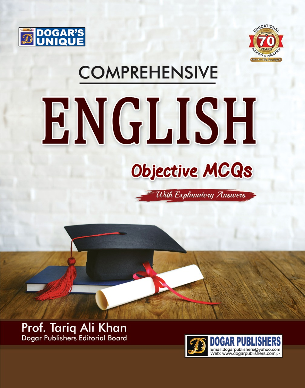 Comprehensive English Objective MCQS with Explanatory Answers