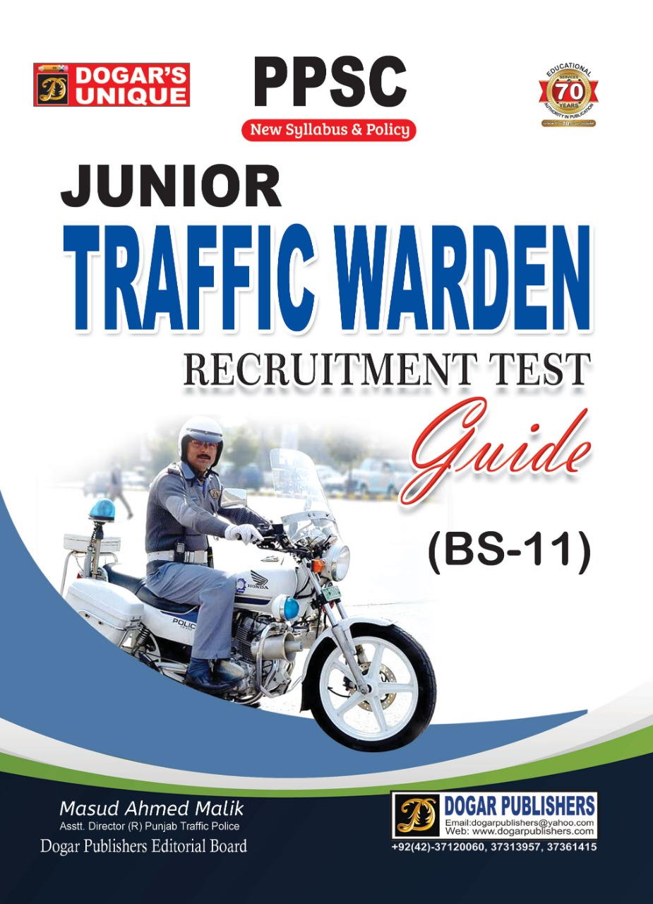 PPSC Junior Traffic Warden Recruitment Test Guide (Bs-11)