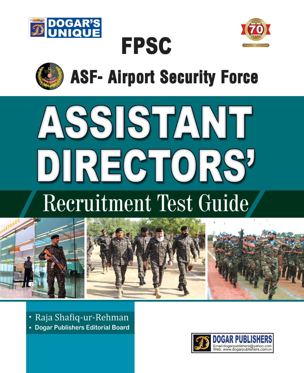FPSC ASF-Airport Security Force Assistant Director Recruitment test Guide Latest Edition 2019