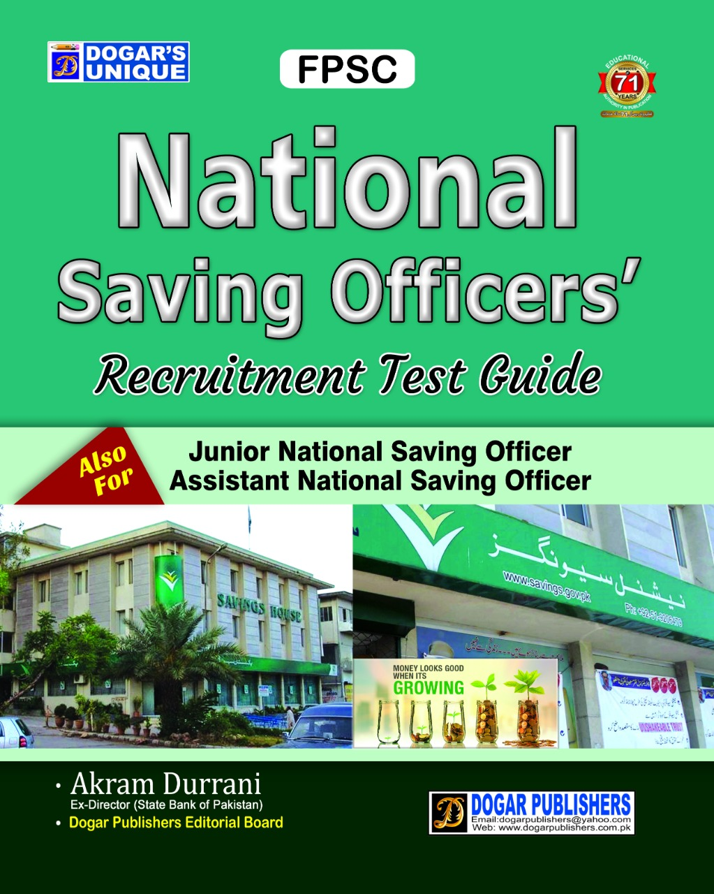 FPSC National Saving officers